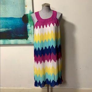 Chelsea and violet multi color dress